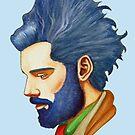Blue Hair by Vilela Valentin