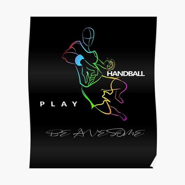 Handballeur Poster