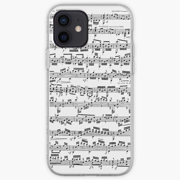 Sheet Music Phone Case iPhone Soft Case