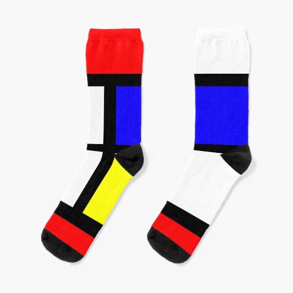 Mondrian Socks Socks