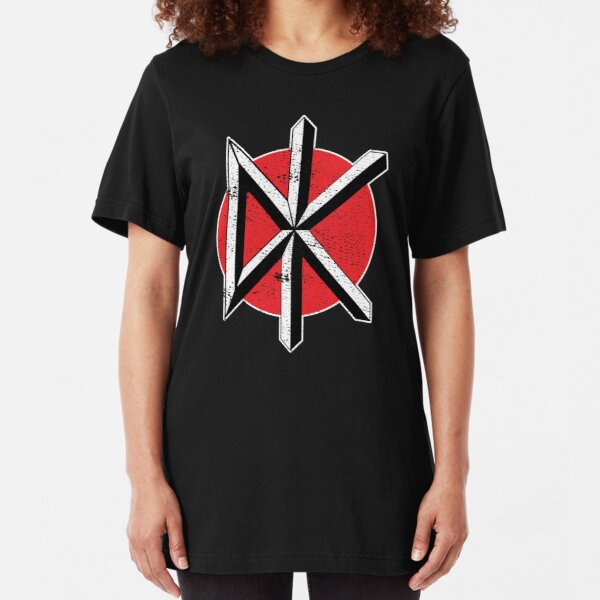 Dead Kennedys (distressed design) Slim Fit T-Shirt