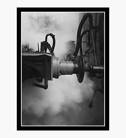 Connecting the couplings Photographic Print