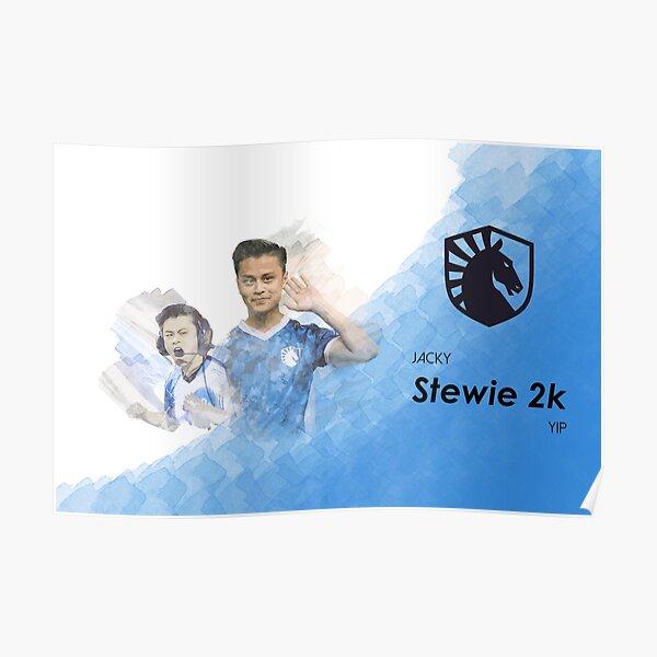 Stewie 2K csgo Team Liquid Poster
