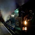 Steam At Night I by Andy Taylor