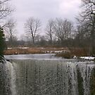 winter waterfall by Kent Tisher