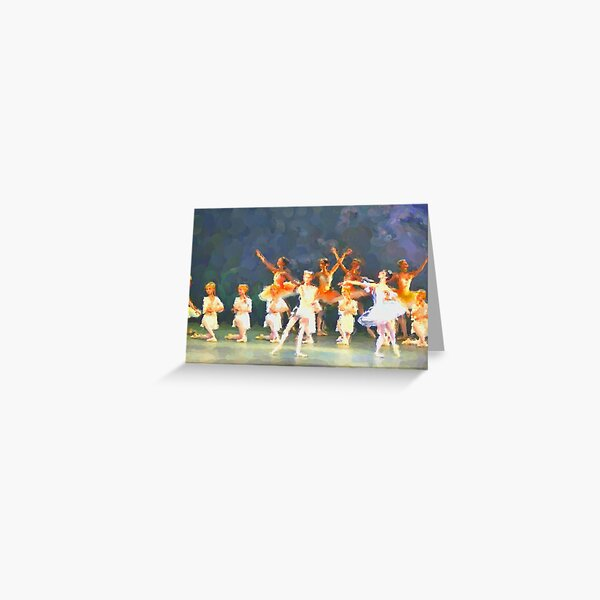 The World Famous Bolshoi Ballet Greeting Card