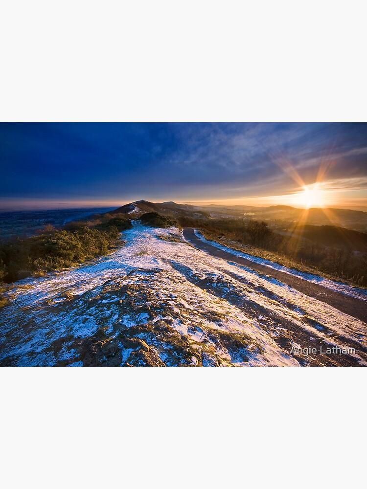 Malvern Hills: Winter Sunset by AngelaBarnett