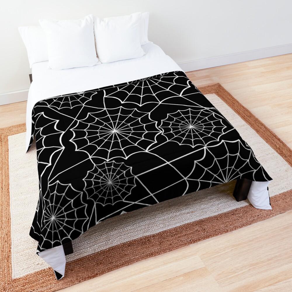 halloween spider web  Comforter