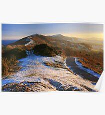 Malvern Hills: Winter Walk Poster