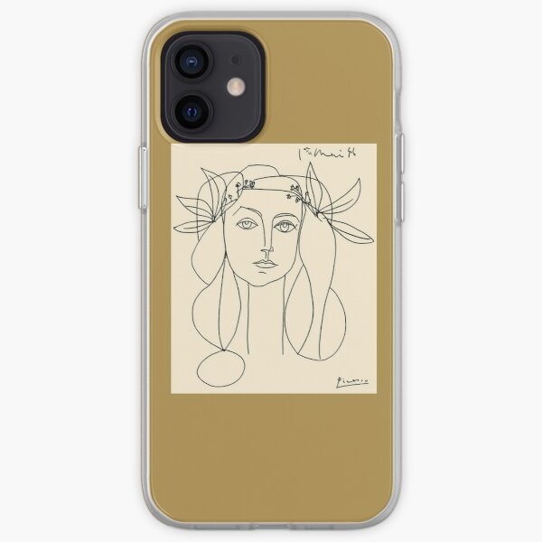 HEAD 1946: Vintage Abstract Print Coque souple iPhone