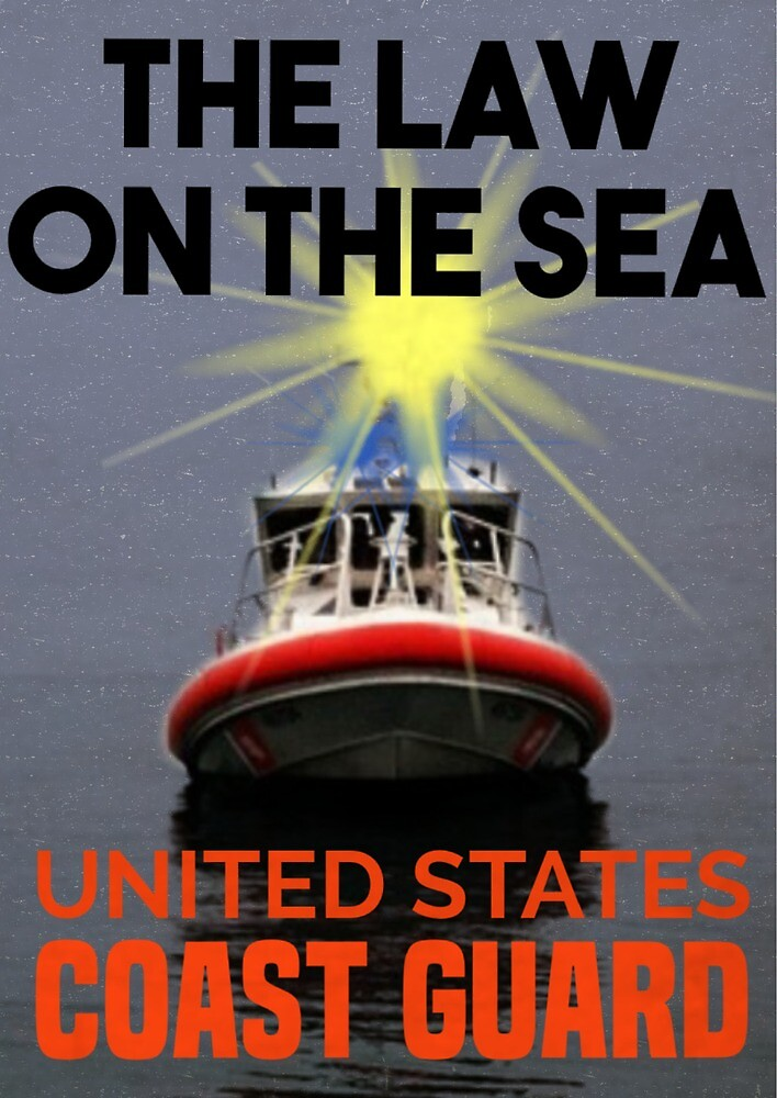 Subdued Coast Guard Law of the Sea by AlwaysReadyCltv