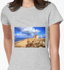 Ruined Windmills Women's Fitted T-Shirt