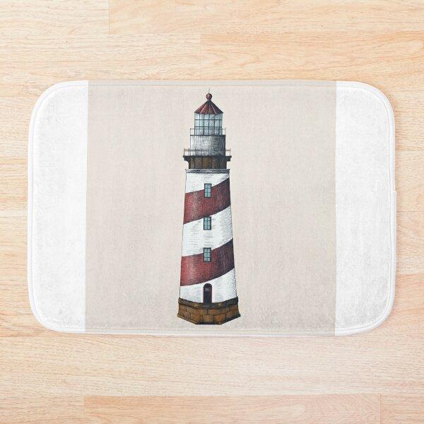 Nautical Lighthouse Bath Mat
