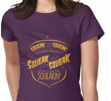 Squirrel Talk Womens Fitted T-Shirt