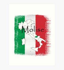 Molise Pride Design italy, italian, tshirt, pride, region, heritage, festival Art Print