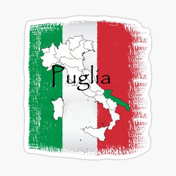Puglia Pride Design Sticker