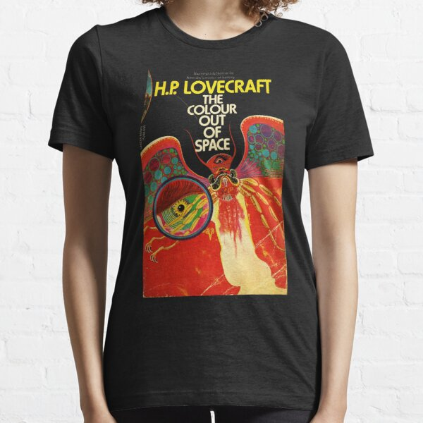 HIGH RESOLUTION The Colour Out Of Space H.P. Lovecraft Vintage Book Cover Essential T-Shirt