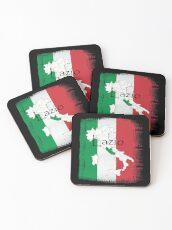 Lazio Pride Design  Coasters