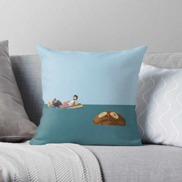 Rum Ham Throw Pillow