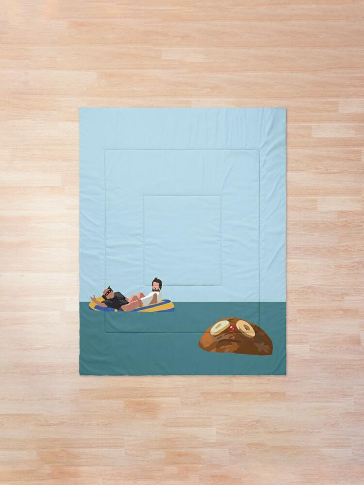 Alternate view of Rum Ham Comforter