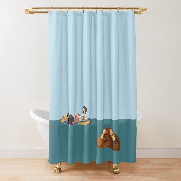 Rum Ham Shower Curtain