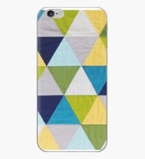 Triangle quilt iPhone Case