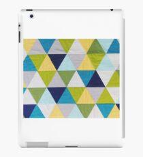 Triangle quilt iPad Case/Skin