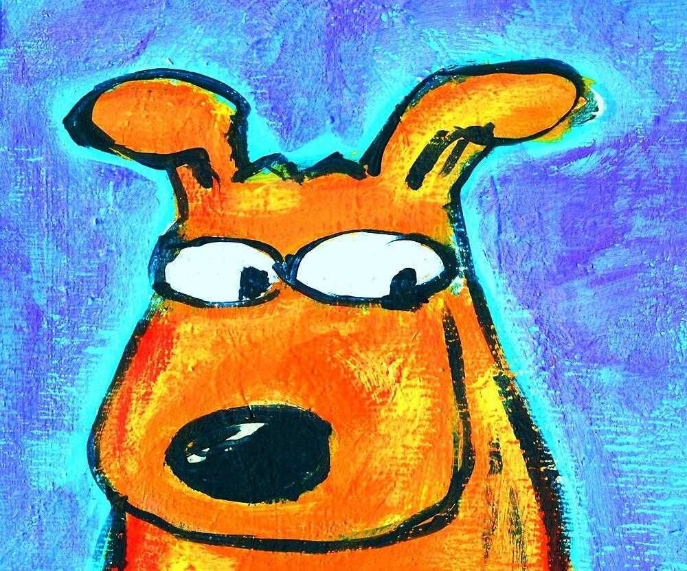 BIG EYE DOG by paulvolker