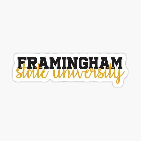 Framingham State University Massachusetts Sticker