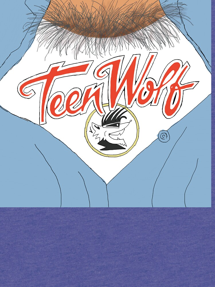 Teen Wolf Chest Hairs T-shirt