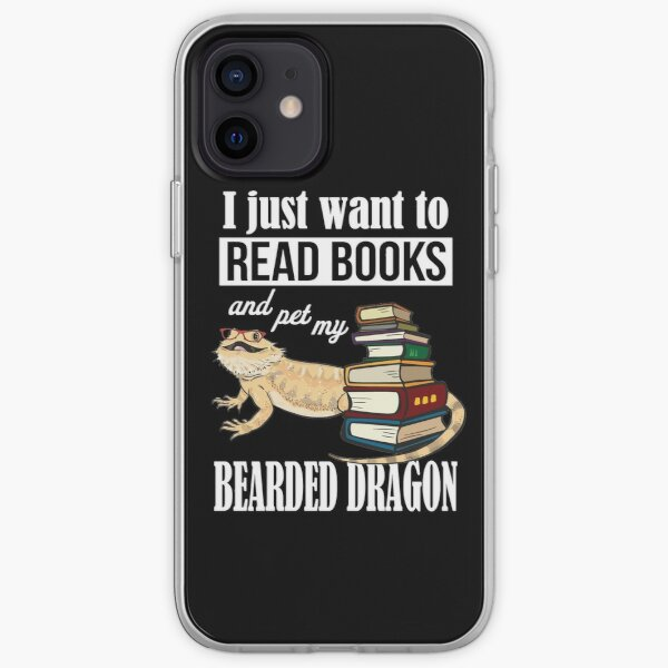 Bearded Dragon Books 1 iPhone Soft Case