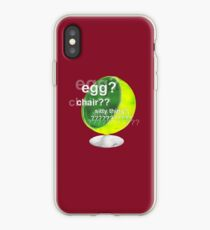 Egg?  Chair??  Sitty thing? iPhone Case