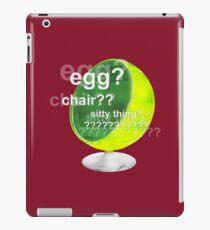 Egg?  Chair??  Sitty thing? iPad Case/Skin
