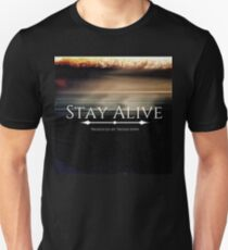 Stay Alive Slim Fit T-Shirt