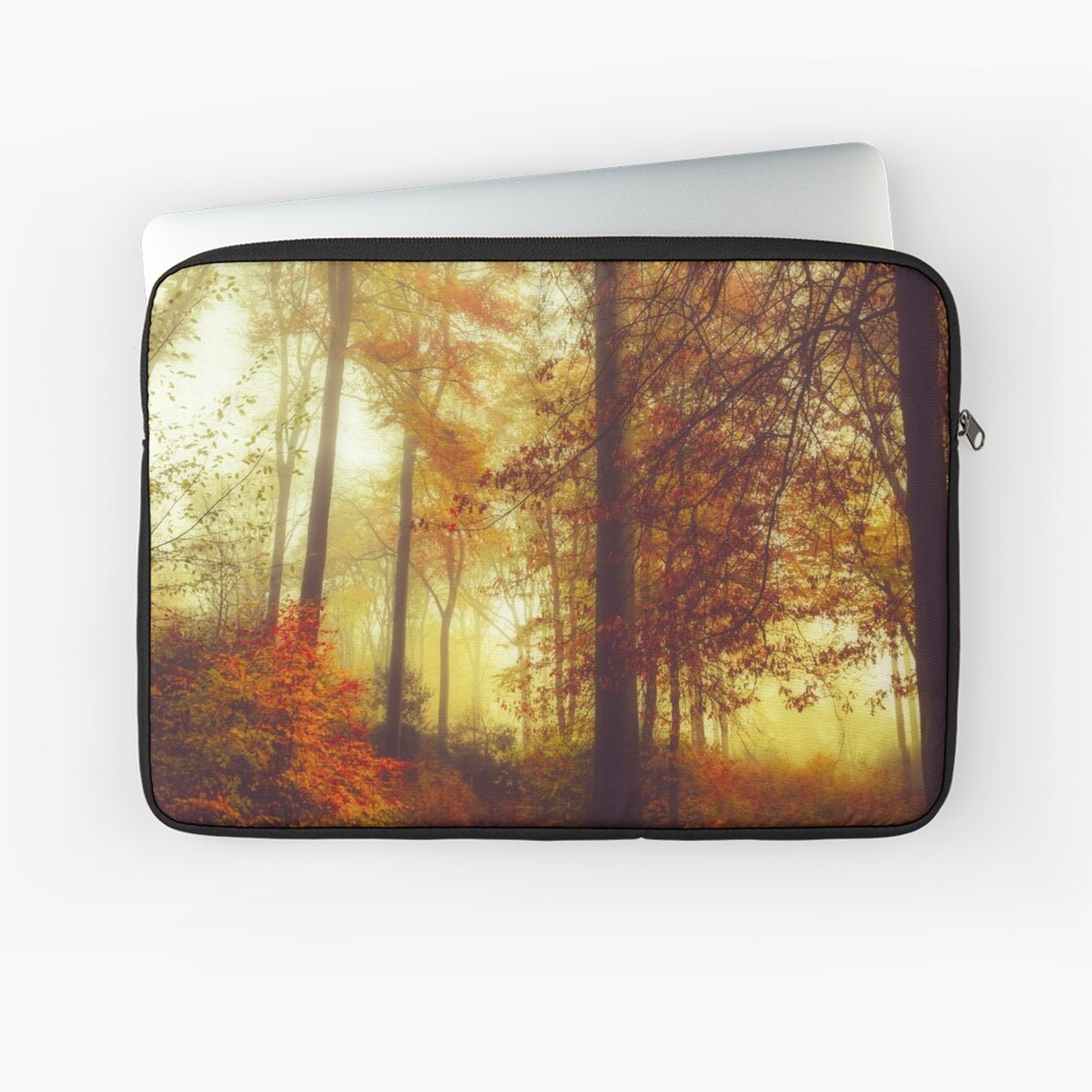 Fall Forest Colours Laptop Sleeve