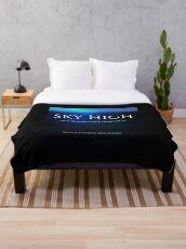 Sky High Throw Blanket