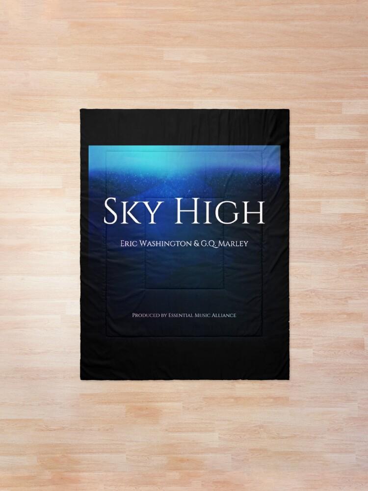 Alternate view of Sky High Comforter