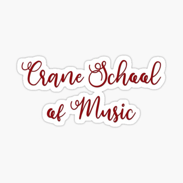 Crane School of Music Sticker