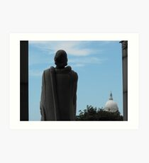 Roger Williams and the State House Art Print