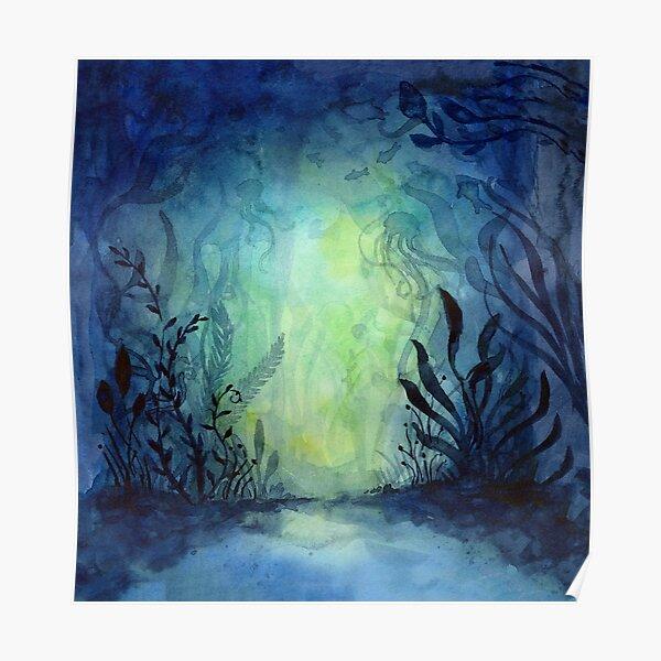 Kunstdruck Unterwasserwelt III