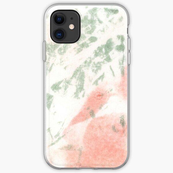 Pea Flower Print iPhone Soft Case