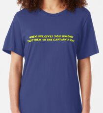 When Life Gives You Lemons Slim Fit T-Shirt