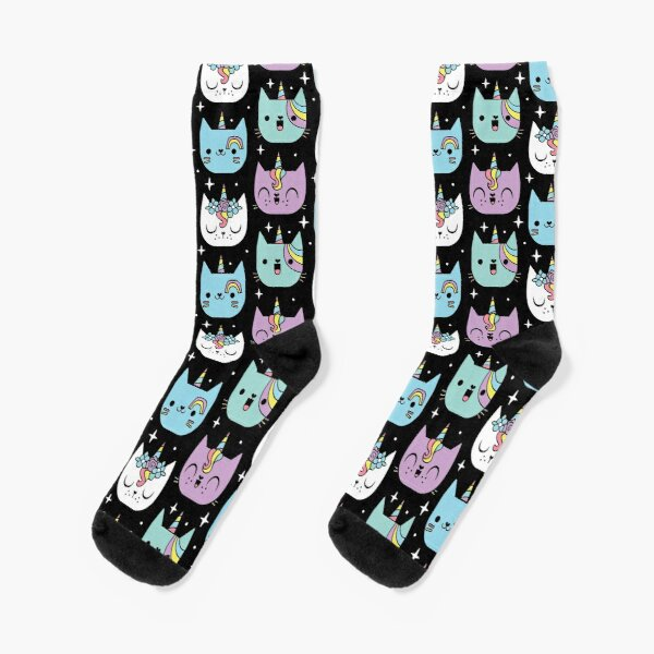 Freakin Meowgical Socks