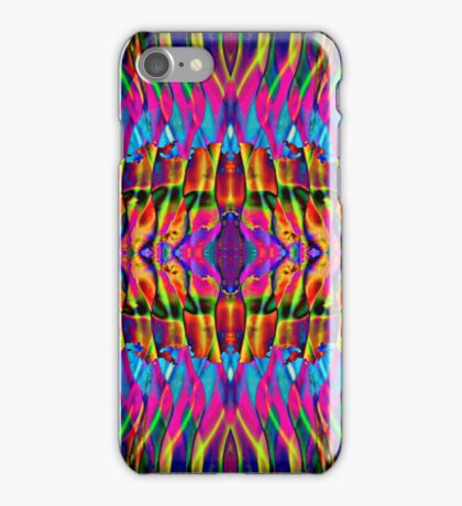 Time is but a psychedelic ripple in the fabric of existence iPhone Case/Skin