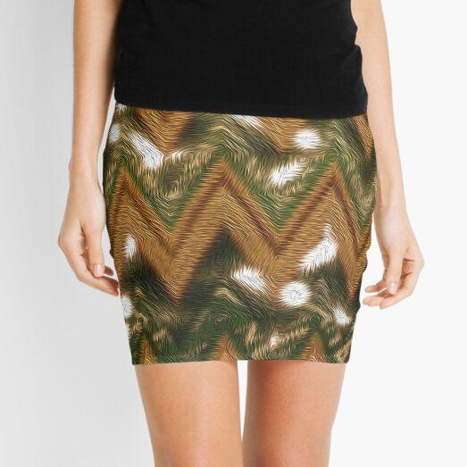Woven Words Mini Skirt