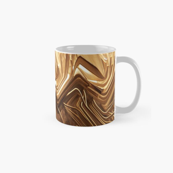 Wired Gold Classic Mug