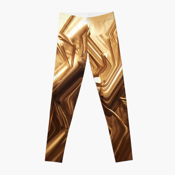 Wired Gold Leggings