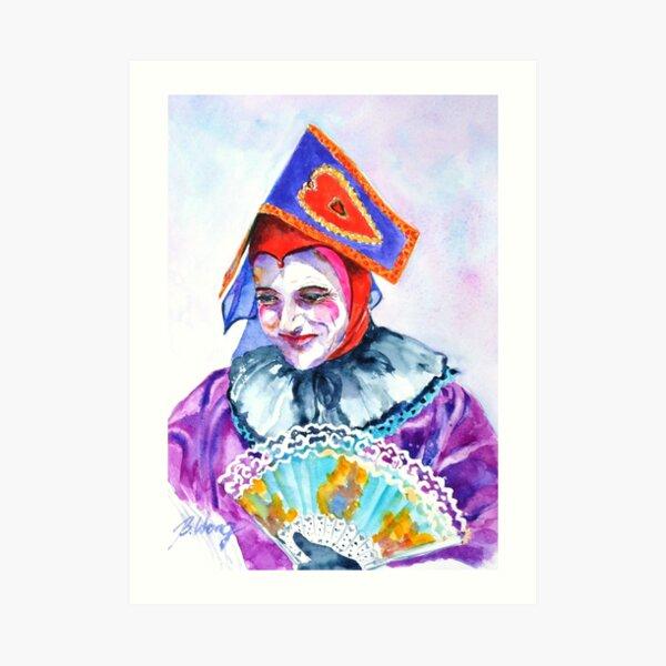 Queen of Hearts #2 Art Print