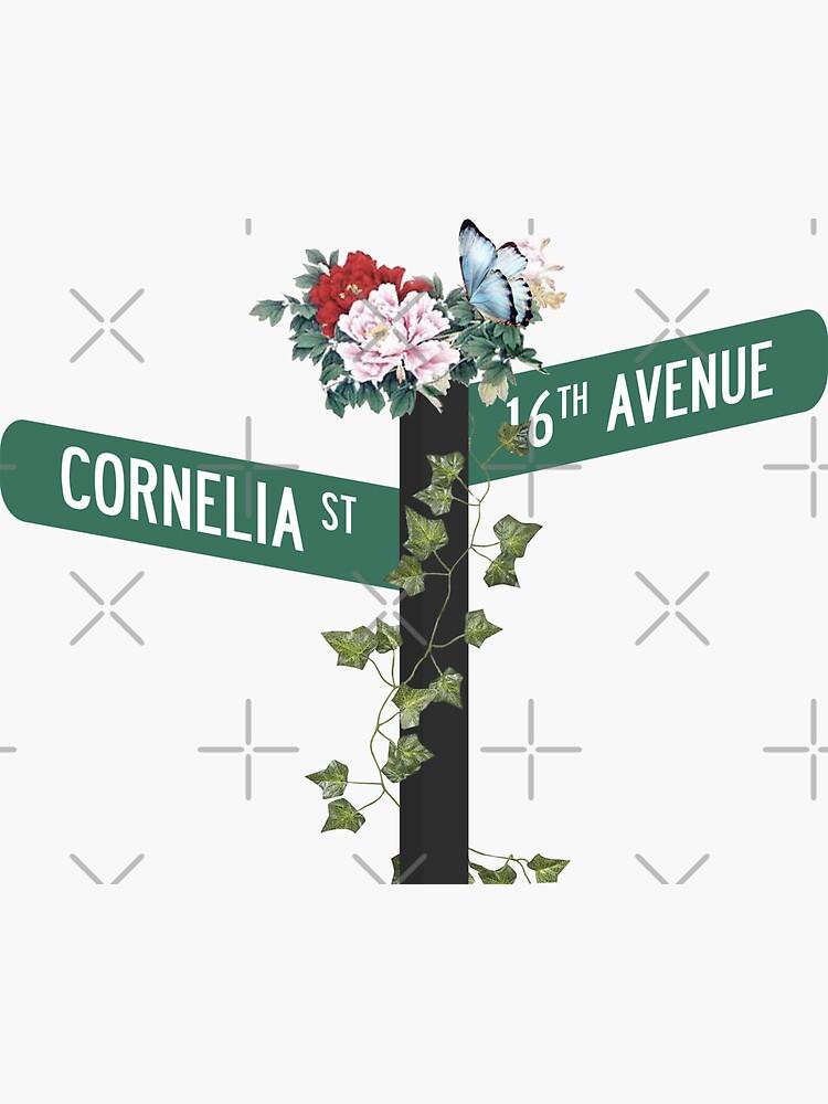 Cornelia Street. by jenelleclaire