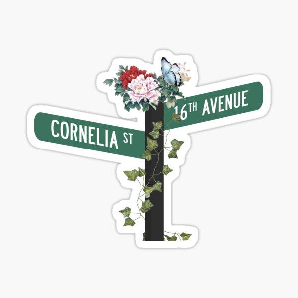 Cornelia Street. Sticker